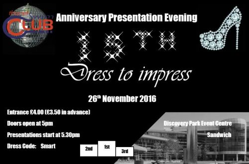 15th Presentation evening