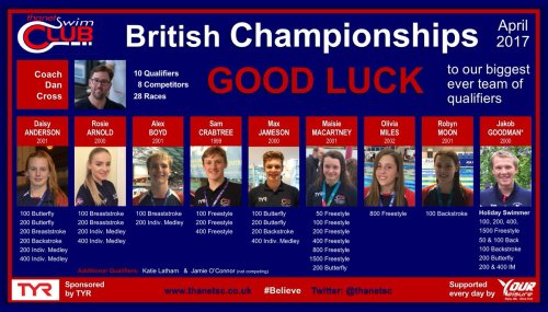British Champs Poster 2