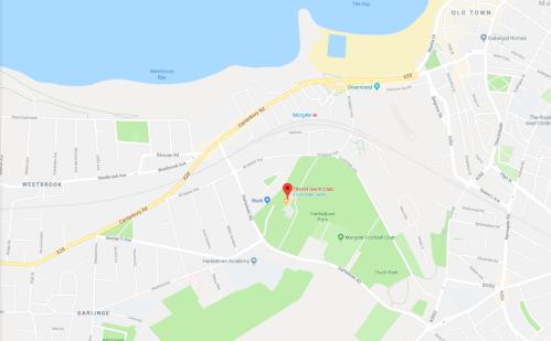 map - hartsdown leisure centre
