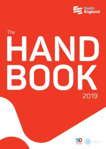 Swim England Handbook 2019 (Cover image)